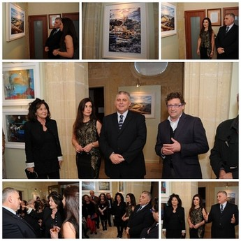 'Two of a Kind' art exhibition in Gozo at Banca Giuratale, Victoria