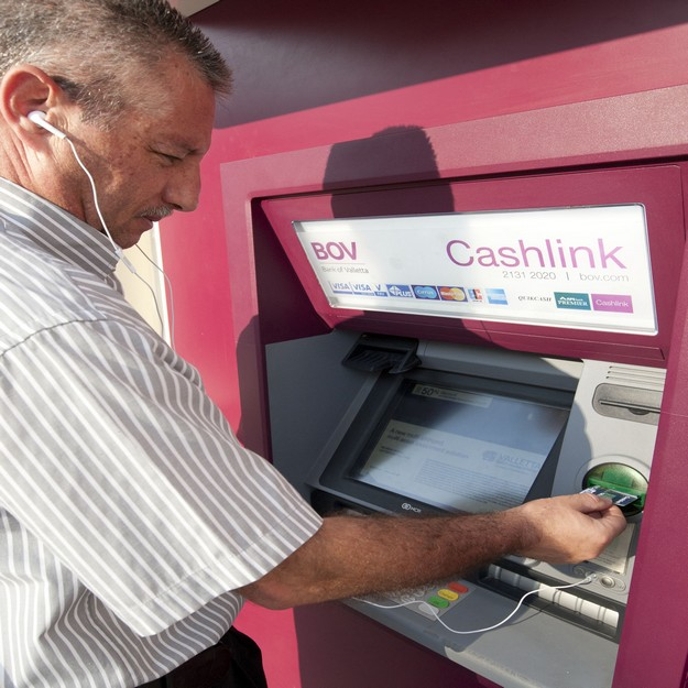 Bank of Valletta 'Talking' ATMs for the visually impaired