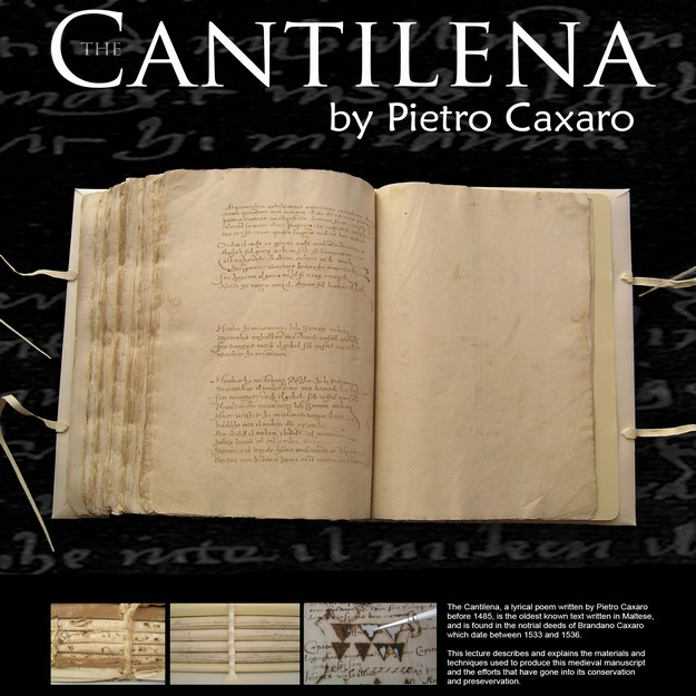 MHS public lecture on 'The Cantilena' with Dr Theresa Zammit Lupi