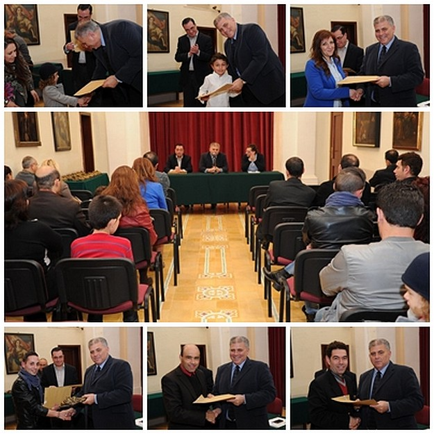 Gozo Carnival participants presented with trophies & plaques
