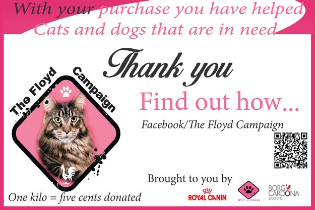 The Floyd Campaign helps local cats and dogs in need