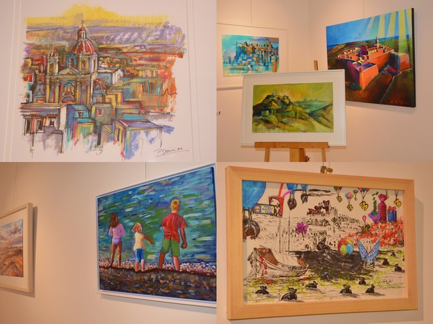 Gozitan landscapes in 'Scenes of an Island' art exhibition