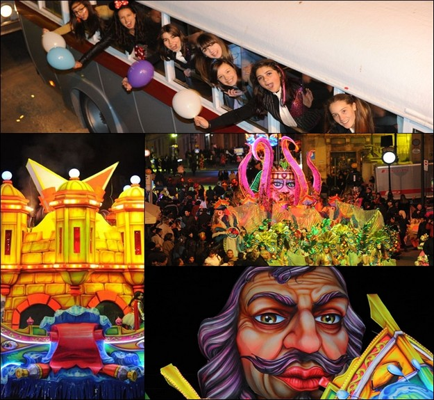 Saturday's carnival parade in Gozo's capital city - A success story