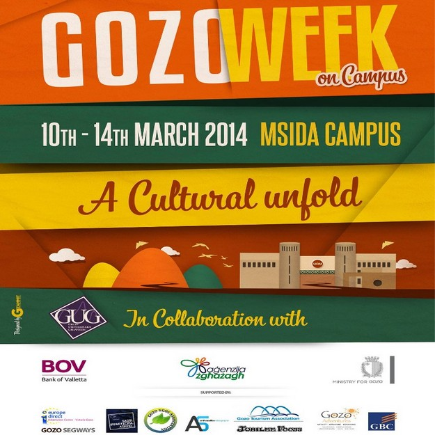 Gozo Week on Campus - 3rd edition gets underway on Monday