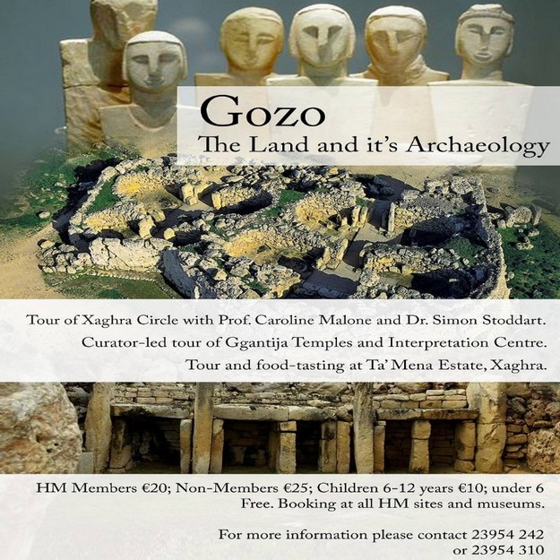 Gozo: The Land & its Archaeology: Heritage Malta tour on Sunday