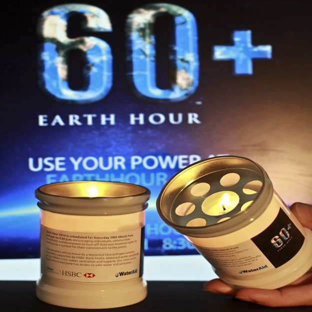HSBC Malta continues to be committed to the Earth Hour cause