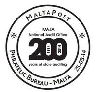 Special Hand Postmark – Malta National Audit Office