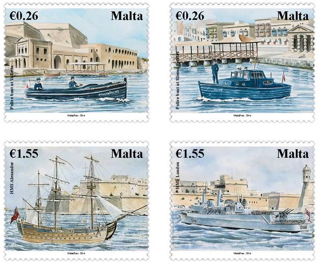 MaltaPost Maritime Malta Series II - 'Commemorations'