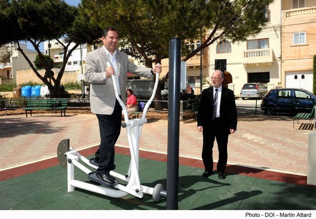 Government working to ensure an outdoor gym for every locality