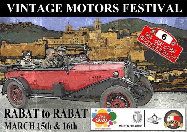 Rabat to Rabat Vintage Motors Festival takes place next weekend