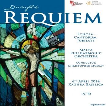 Schola Cantorum Jubilate & MPO Gozo concert: Requiem by Duruflé