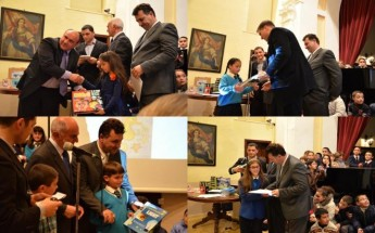 Prizes presented to winners of 'Science Days in Gozo' Festival