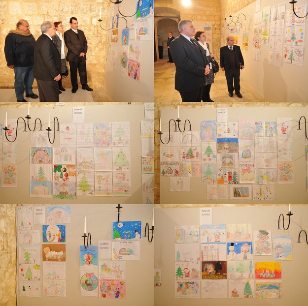 Artisitic works by Gozo's primary students on show at the Cittadella