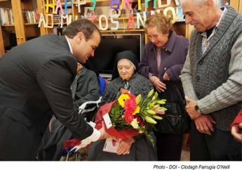 Gozitan nun, Sr Lydia Formosa celebrates her 105th birthday