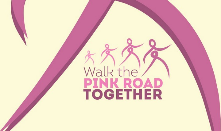 Gozo's 'Walk the Pink Road Together' with Europa Donna Malta