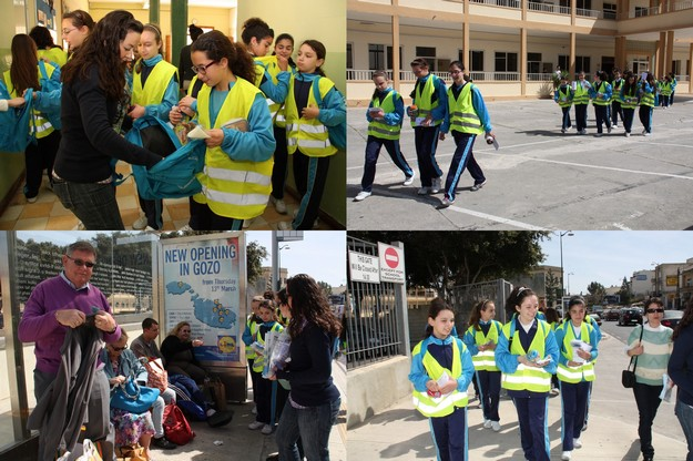 Walk for Water: €600 raised by Gozo College Girls Secondary School