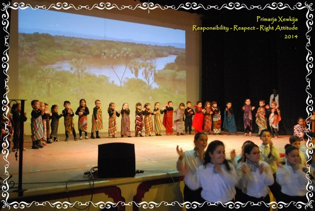 Celebrating success at Xewkija Primary with 'Button Box' musical