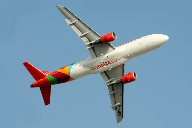 Air Malta's flight to Gatwick this morning returns to Malta for technical reasons