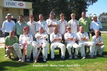 Ampthill Town CC return on 6th tour to Malta to take on Marsa