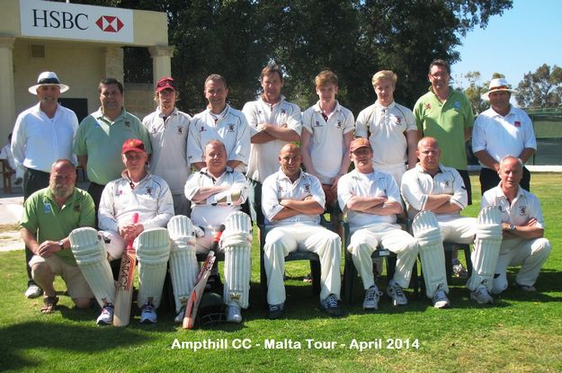 Ampthill Town CC return on 6th tour to Malta to take on Marsa