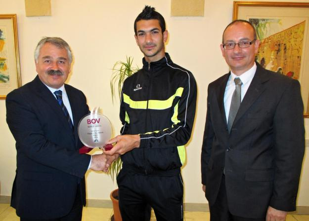 Ferdinando Apap - BOV Player of the Month for March 2014