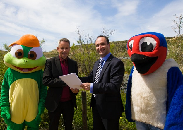 BOV renews its support to Birdlife's Dinja Wahda programme