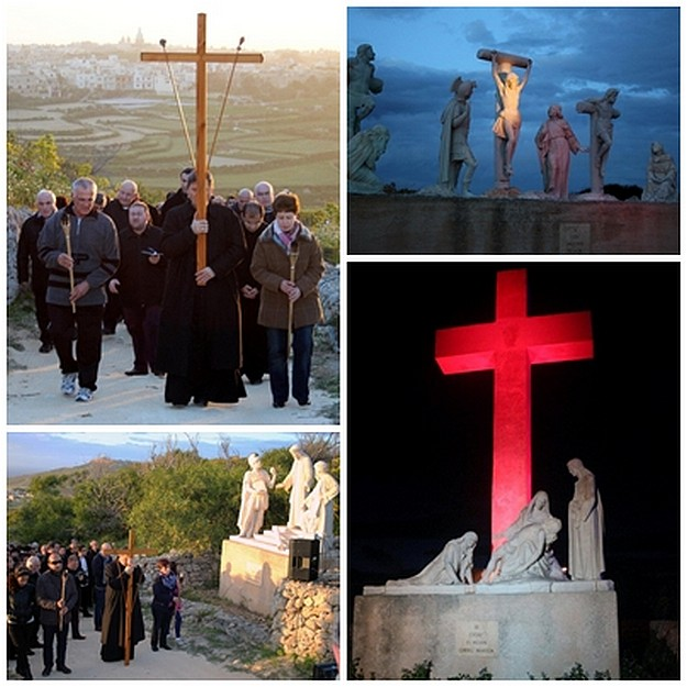 Diocesan Via Crucis takes place next Sunday on Ta' Ghammar Hill