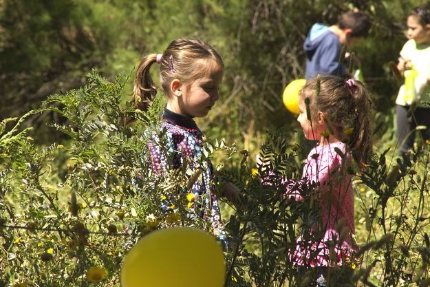 Families enjoy spring wildlife and Easter-egg hunt at Is-Simar