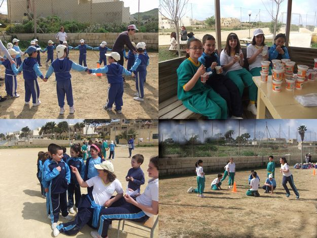 Gozo College Gharb Primary organises a student's 'Fitness Day'