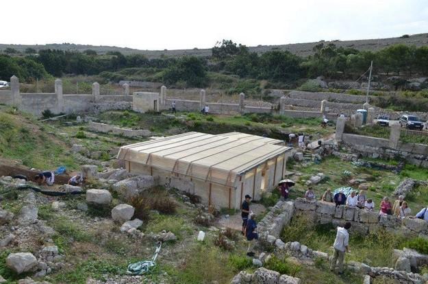 Ghajn Tuffieha Roman Baths: Excavation open weekend