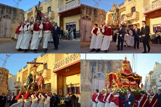Good Friday marks 100th anniversary of Xaghra's Passion statues