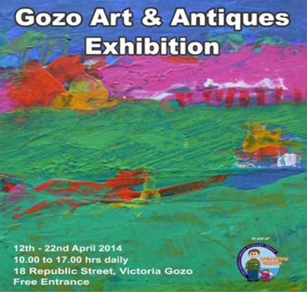 Gozo Art & Antiques Exhibition in aid of Puttinu Cares