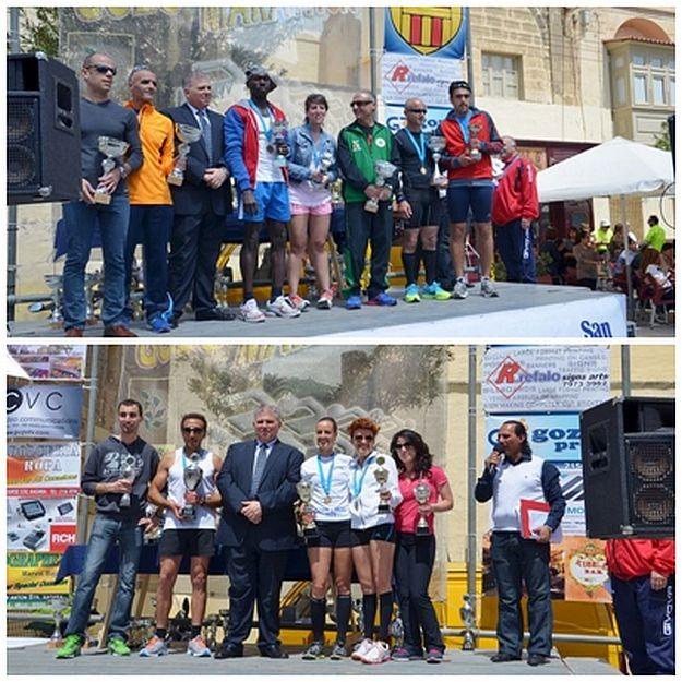 400 athletes particpate in Sunday's Gozo Half Marathon 2014