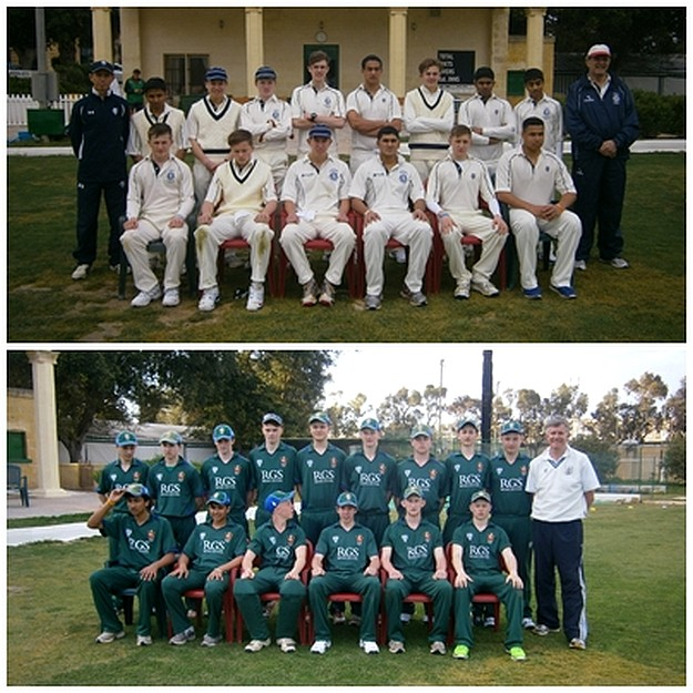 Harrow School CC & Worcester Royal GrammarCC visit Malta