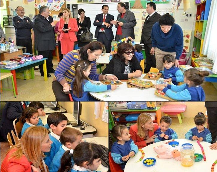 Parliamentary Secretaries Visit Gozo College Primary School