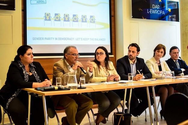 Gender-balanced representation for better decision-making: MEP candidates