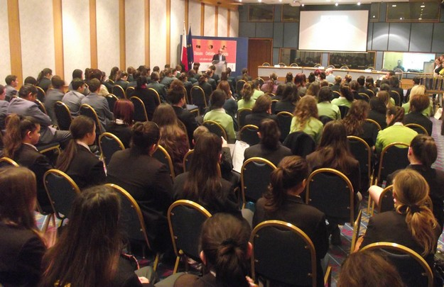 Secondary school students debate on 'Quality Education'