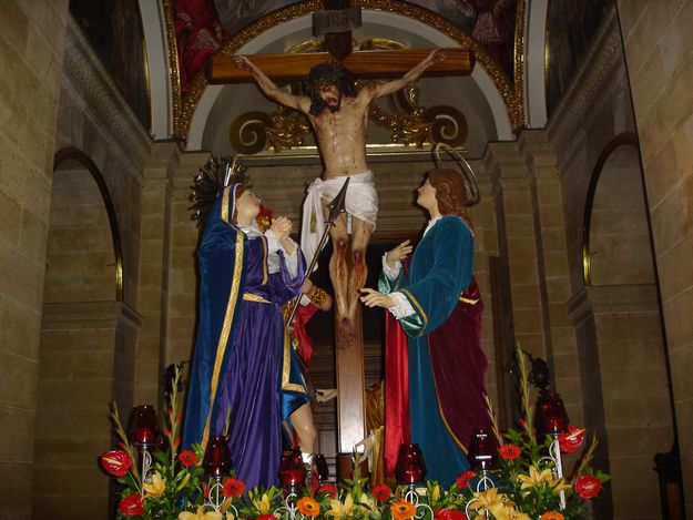 Passion procession from the Gozo Cathedral on Sunday evening
