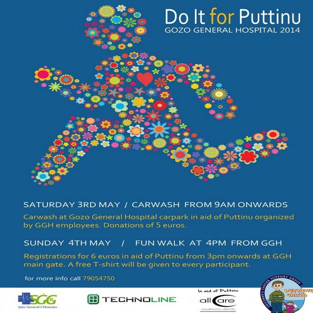 Gozo Hospital weekend of events to raise funds for Puttinu Cares