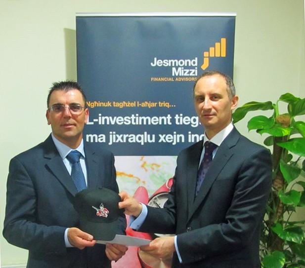 Jesmond Mizzi Financial Advisors sponsors Ghajnsielem Redcoats
