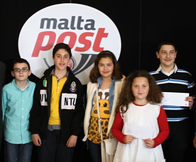 25 students win MaltaPost philatelic items in SAGHTAR Competition
