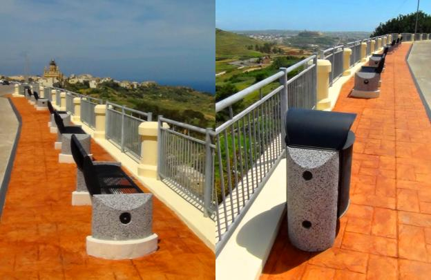 Inauguration of Renovated Belvedere at Zebbug, Gozo