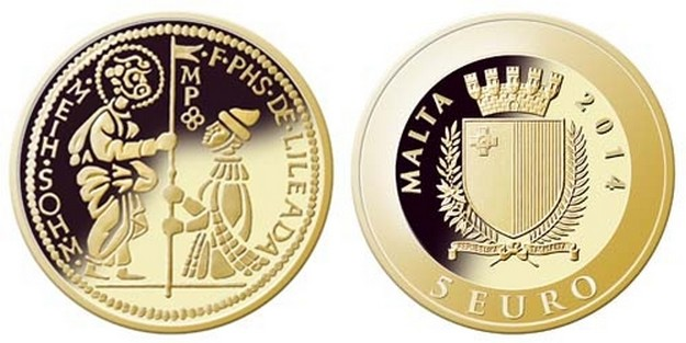 The Central Bank of Malta issues gold coin depicting the zecchino