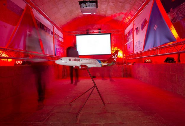 Re-imagined and reconnected: Air Malta at Malta Design Week