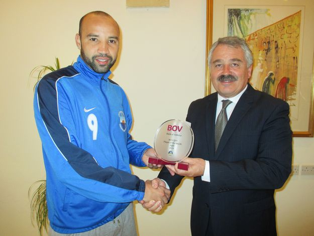 Nadur's Elton Da Silva is BOV GFA Player of the Month for April