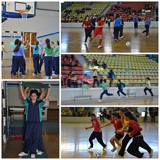 Bishop's Conservatory Secondary students participate in sports day