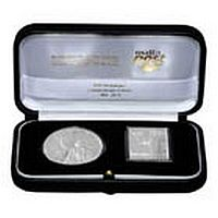 CBM & MaltaPost launch joint numismatic silver coin and silver stamp