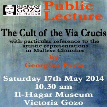 The Cult of the Via Crucis: Public lecture at Il-Hagar Museum Victoria