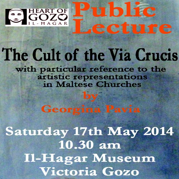 The Cult of the Via Crucis: Public lecture at Il-Hagar Museum Victoria