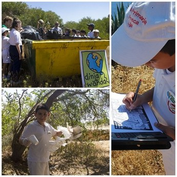 Dinja Wahda Rangers clean up Natura 2000 site to help protect seabirds